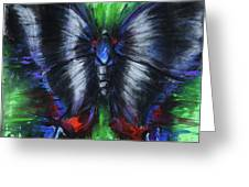 Anxious Butterfly Greeting Card