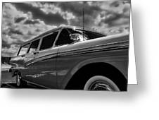 Any Ford In A Storm Greeting Card