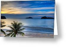 Ao Manao Bay Greeting Card by Adrian Evans