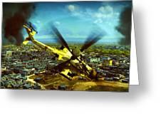 Apache Ai Assault - Operation Osama Greeting Card