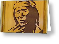 Apache Brave Greeting Card
