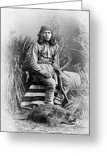 Apache Leader, 1885 Greeting Card