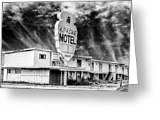 Apache Motel Tucumcari Greeting Card