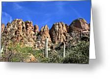 Apache Trail Greeting Card