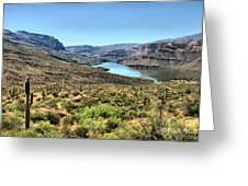 Apache Trail - Salt River - Arizona Greeting Card