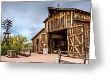 Apacheland Greeting Card