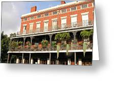Apartments French Quarter Greeting Card