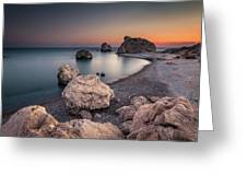 Aphrodities Rock  Greeting Card