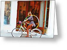 Spirit Of Key West #2 Greeting Card