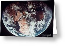 Apollo 11: Earth Greeting Card