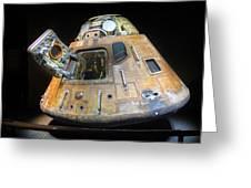 Apollo 14 Command Module Kitty Hawk Greeting Card