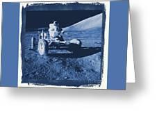 Apollo 17 Lunar Rover - Nasa Greeting Card
