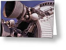 Apollo Rocket Engine Greeting Card