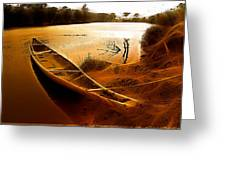Aponwao River  Greeting Card