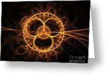 Apophysis 4 Greeting Card