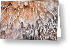 Apostle Islands Icicle Cave Greeting Card