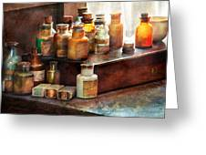 Apothecary - Chemical Ingredients  Greeting Card