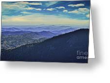 Appalachia Blue Greeting Card
