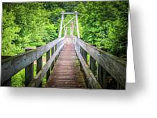 Appalachian Bridge Greeting Card
