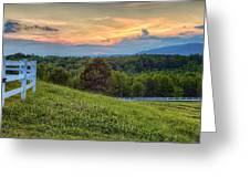Appalachian Evening Greeting Card