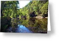 Appalachian Mirror II Greeting Card