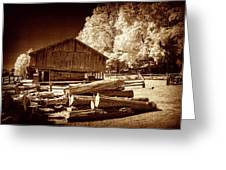 Appalachian Saw Mill Greeting Card