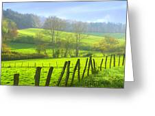 Appalachian Spring Morning Greeting Card