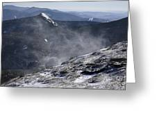Appalachian Trail - Franconia Ridge-white Mountains New Hampshire Greeting Card