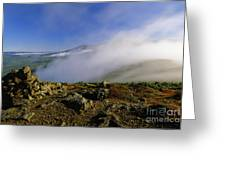 Appalachian Trail - White Mountains New Hampshire Usa Greeting Card