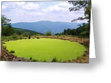 Appalachian Vista Greeting Card