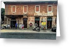 Appia Antica Break Greeting Card