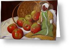 Apple Annie Greeting Card by Donelli  DiMaria