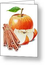 Apple Cinnamon Greeting Card