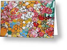 Apple Honeycomb Blossoms 201760 Greeting Card