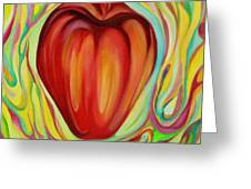 Apple One Greeting Card