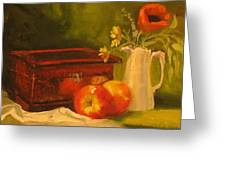 Apple Reflections Greeting Card