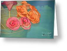 Apple Roses Greeting Card