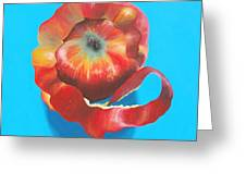 Apple Twist Greeting Card