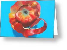 Apple Twist Greeting Card