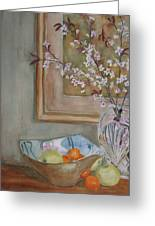 Apples And Oranges Greeting Card by Jenny Armitage