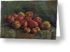 Apples Paris, September - October 1887 Vincent Van Gogh 1853 - 1890 Greeting Card