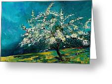 Appletree In Spring Greeting Card