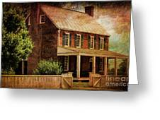 Appomattox Court House By Liane Wright Greeting Card