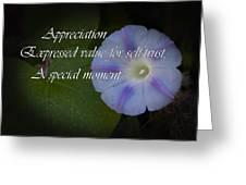 Appreciation Greeting Card