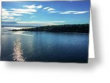 Approach To Stockholm Greeting Card