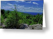 Approaching Little Gap On The Appalachian Trail In Pa Greeting Card