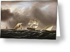 Approaching Squall Greeting Card