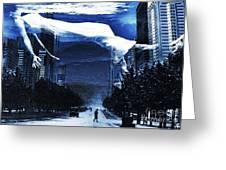 Apres Moi Le Deluge Greeting Card