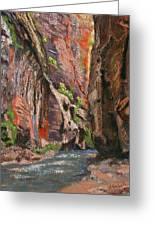 Apricot Canyon 2 Greeting Card