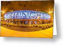 April 2015 - Birmingham Alabama Regions Field Minor League Baseb Greeting Card